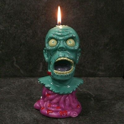 """Oddco 6"""" Melting Zombie Candle - Factory Sealed & Mint In Box"""