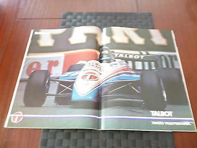 Autosport June 24 1982 Centrespread: Jacques Laffite? Talbot Takes You Further