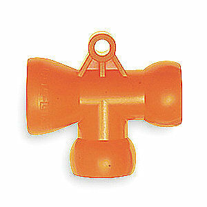 LOC-LINE T Fitting,1/2 In,PK2, 51825