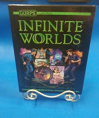 Gurps 4th Edition (Infinite Worlds) 1st edition 1st printing LN