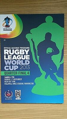 Rugby League World Cup Quarter -  Final  4   2013
