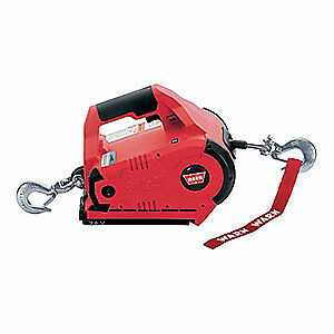 WARN Portable Electric Winch,HP,24VDC, 885005