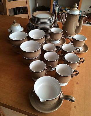 Vintage Denby Renaissance Collection - Seville  - Dinner and Tea Set - 43 pcs