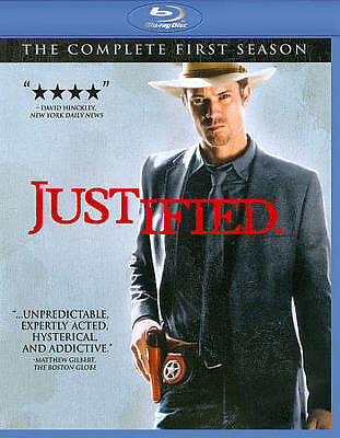 Justified: The Complete First Season (Blu-ray Disc, 2011, 3-Disc Set)