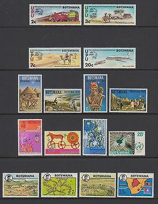 Botswana 1973-74 Stamps Postage 4 Sets Mint Hinged