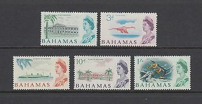 Bahamas 1965 QEII Stamps Mint Hinged
