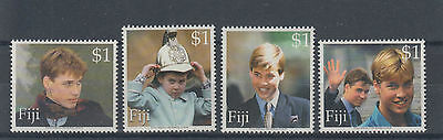 Fiji 2000 18th Birthday of Prince William Mint Hinged (#1628)