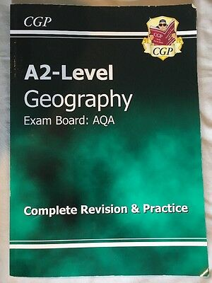 CGP A2 Level Geography AQA Revision Guide and Practice Book