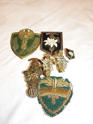 Ww2   Italian.  Italy Ww2  Very Rare!!!! Lot Of The Same Soldier Gaf!!!!!