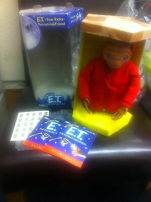 RARE HASBRO interactive TALKING E.T. THE EXTRA TERRESTRIAL STILL IN ORIGINAL BOX