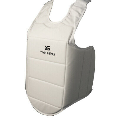 Karate Chest Protector Vest Boxing Waist Guard for Competition Training XL