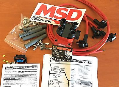 Msd kit ignition coil + cavi wires included fiat punto gt peugeot Citröen xsara
