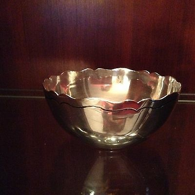Vintage Mexican Sterling silver Margot bowl 4.8 oz silver/ or 136.08g.of silver