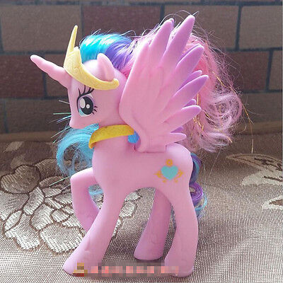 14cm Princess Cadence  My Little Pony Doll Action Figure Toy Kids Gift Pink