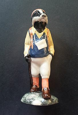Beswick - English Country Folk - Hiker Badger