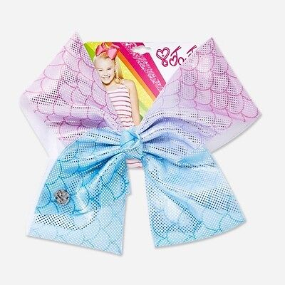 Large JOJO SIWA USA 🇺🇸 IMPORT PINK AND BLUE MERMAID  HAIR BOW