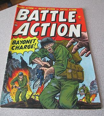 Battle Action #1 Vol.1 1952 Atlas Comics 3.0 Pakula