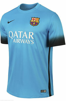 Barcelona 2015-16 third jersey by Nike - XL. RRP of £64!