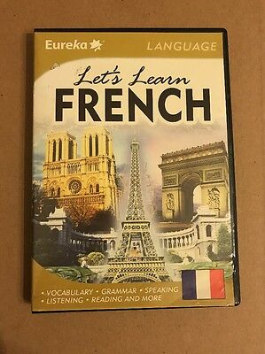 Let's Learn French - PC CD Software Eureka