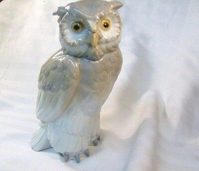 LLADRO/NAO  Wise old Owl
