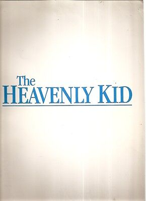 Original The Heavenly Kid Movie Press Kit 1985 Orion Pictures Ghosts Drama