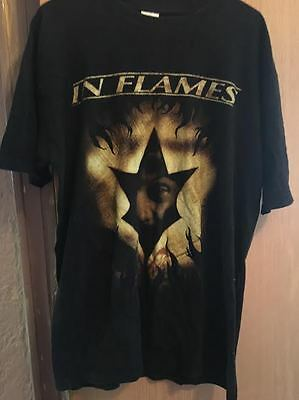 In Flames T-shirt- Men's L- Reroute to Remain Tour-