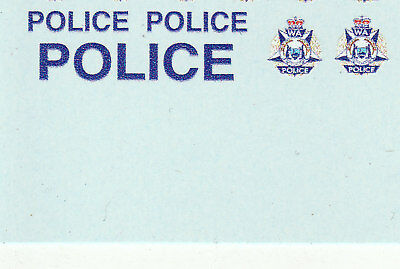 1:64 Waterslide decals POLICE WA Australia