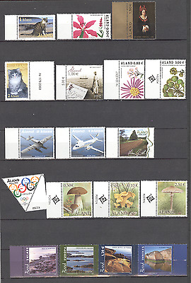 Aland - Small Collection of 18 Stamps MNH***