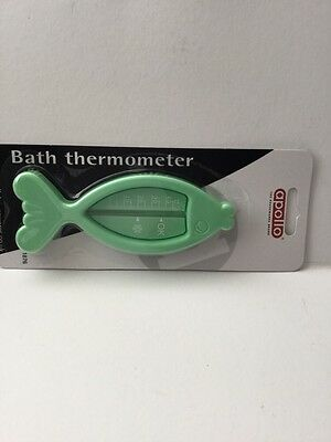 Baby Bath Tub Thermometer Safety Floating Fish Gauge Measure Water Temperature