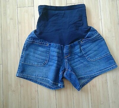 "Oh Baby by Motherhood Jean Shorts Size Medium 4"" inseam Medium"