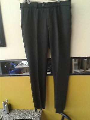 Galvin Green Men Golf Trousers Grey Striped Size 34/32""