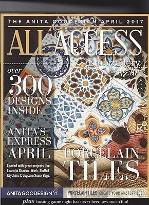 Anita Goodesign All Access April 2017 awsome designs with free shipping