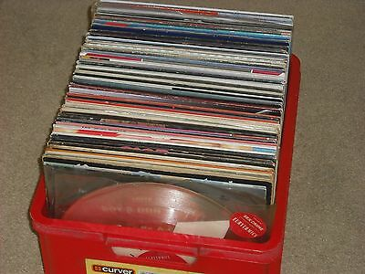 "GIANT BOX OF VINYL LPs & 12"" - 60s-70s-80s WITH LOADS OF COLLECTABLES & RARITIES"