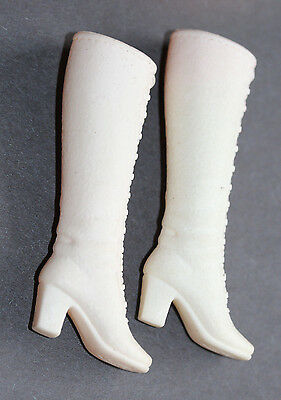 Vintage Barbie-Francie 1972-73 White Boots To 3 Mattel Outfits Listed-Taiwan