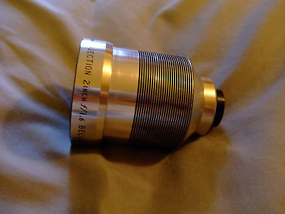 Bell & Howell Projector Lens 2 Inch/f/1.6 for 16mm projector