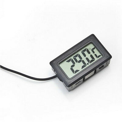 1 Piece Digital Lcd Probe Fridge Freezer Thermometer Thermograph For Aquarium  0