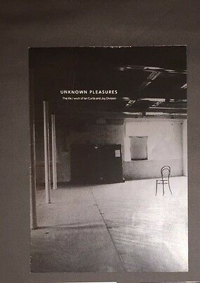 IAN CURTIS / JOY DIVISION Life Work Exhibition Brochure New Order Post Punk UK