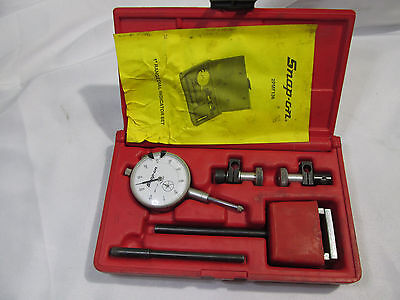 Snap On Tools Dial Indicator Test Set Pmf136