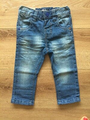 New Next Baby Boys Jeans Trousers Size 12-18 Months 100% Cotton
