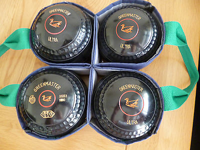 Greenmaster Ultra Lawn Bowls Size 2