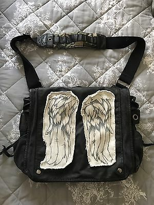 The Walking Dead Daryl Dixon Wings Messenger Bag Officially Licensed Merchandise