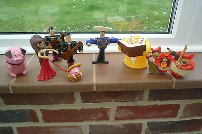 Book Of Life Plastic Figures  Lovely Bundle McDonalds