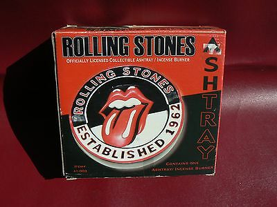 Rolling Stones Officially Licensed Collectible Ashtray/ Incense Burner New