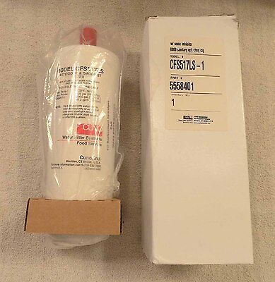 NEW Cuno CFS517LS Water Filtration System Cartridge  5558401   NEW