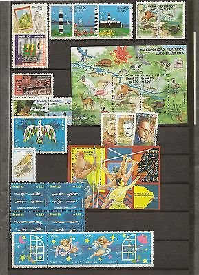 Brazil 1992-2002 Virtually Complete Never Hinged Mint Collection (700+40 M/s)