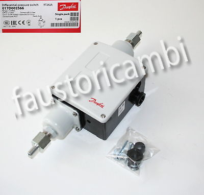 Danfoss Pressostato Differenziale Rt262A 017D002566 Rt262