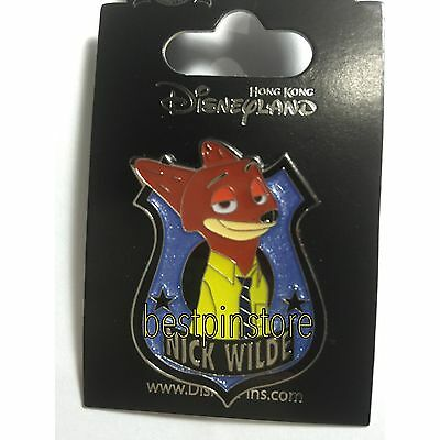 Disney pin - HKDL Zootopia Nick Wilde