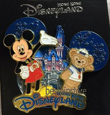 Disney pin - HKDL 2017 Castle Collection - Mickey & Duffy