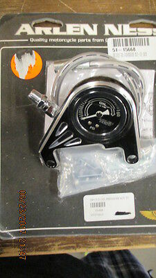 Harley-Davidson Nos Arlen Ness Oil Pressure Kit For Twin Cam Models