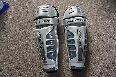 ice Hockey Leg Pads Guards CCM V10 Senior 43cm 17""